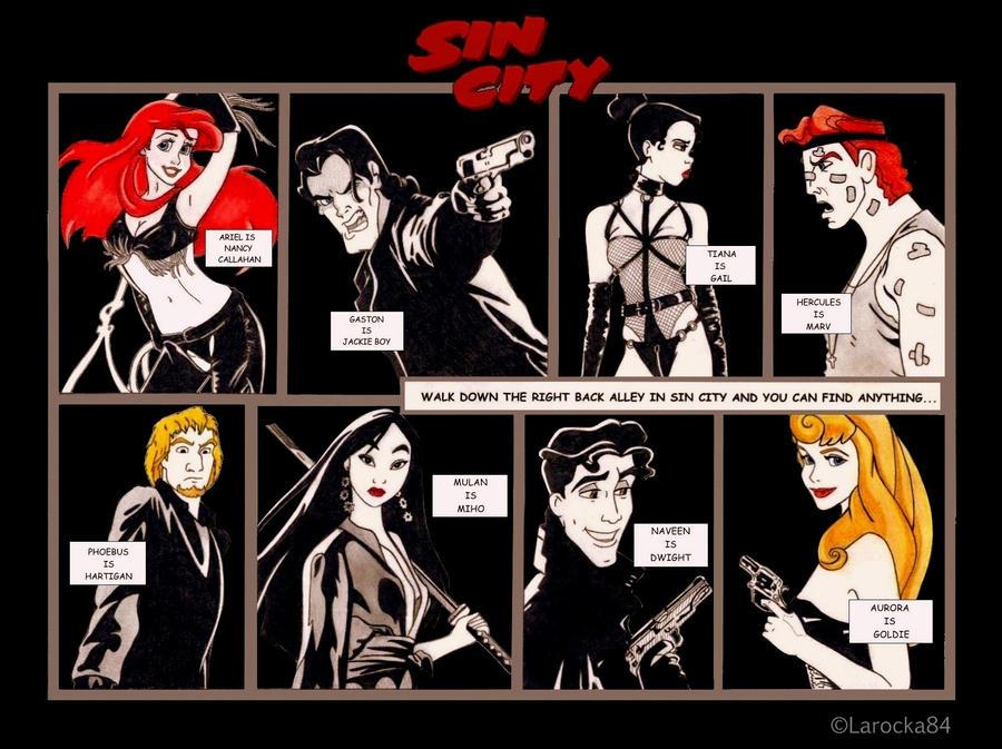 Disney Sin City by Larocka84