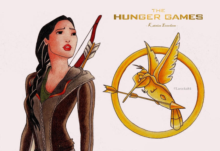 The Disney Hunger Games - Katniss Everdeen by Larocka84