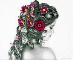 Like a flower - portrait -