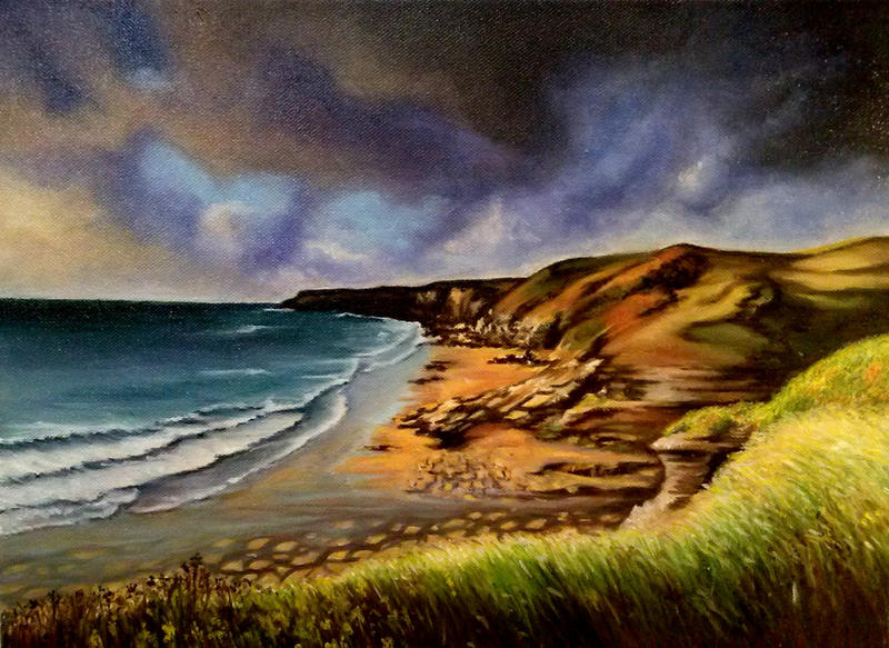 British coastline by Larocka84