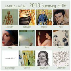 2013 Summary of Art Meme