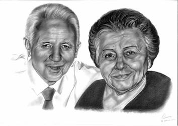 Vincenzo e Maria - portrait commission