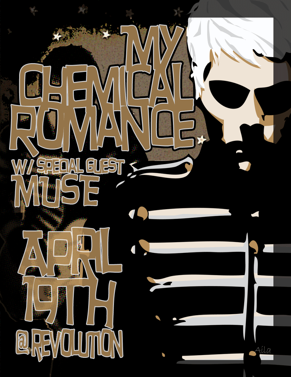 Mock Gig Poster - MCR by madteaparty