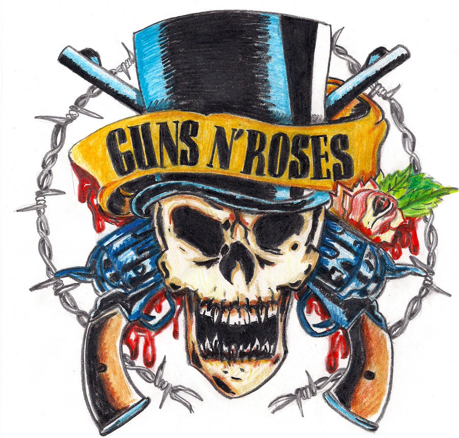 Guns N' Roses logo by muszenka on DeviantArt