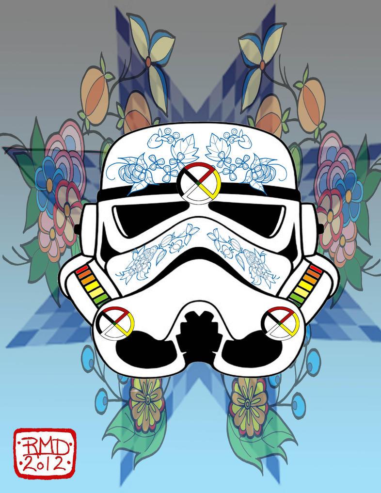 Ojibwa Storm trooper by my-little-native