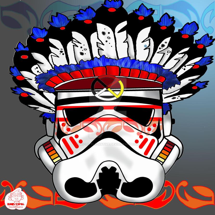 Halfpint Storm Trooper by my-little-native