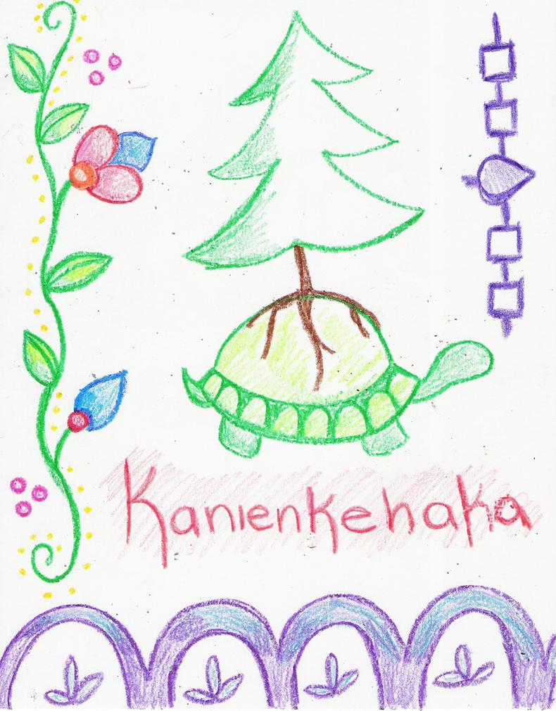 kanienkehaka by my-little-native