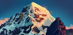 Mountain Castle by Sckookum