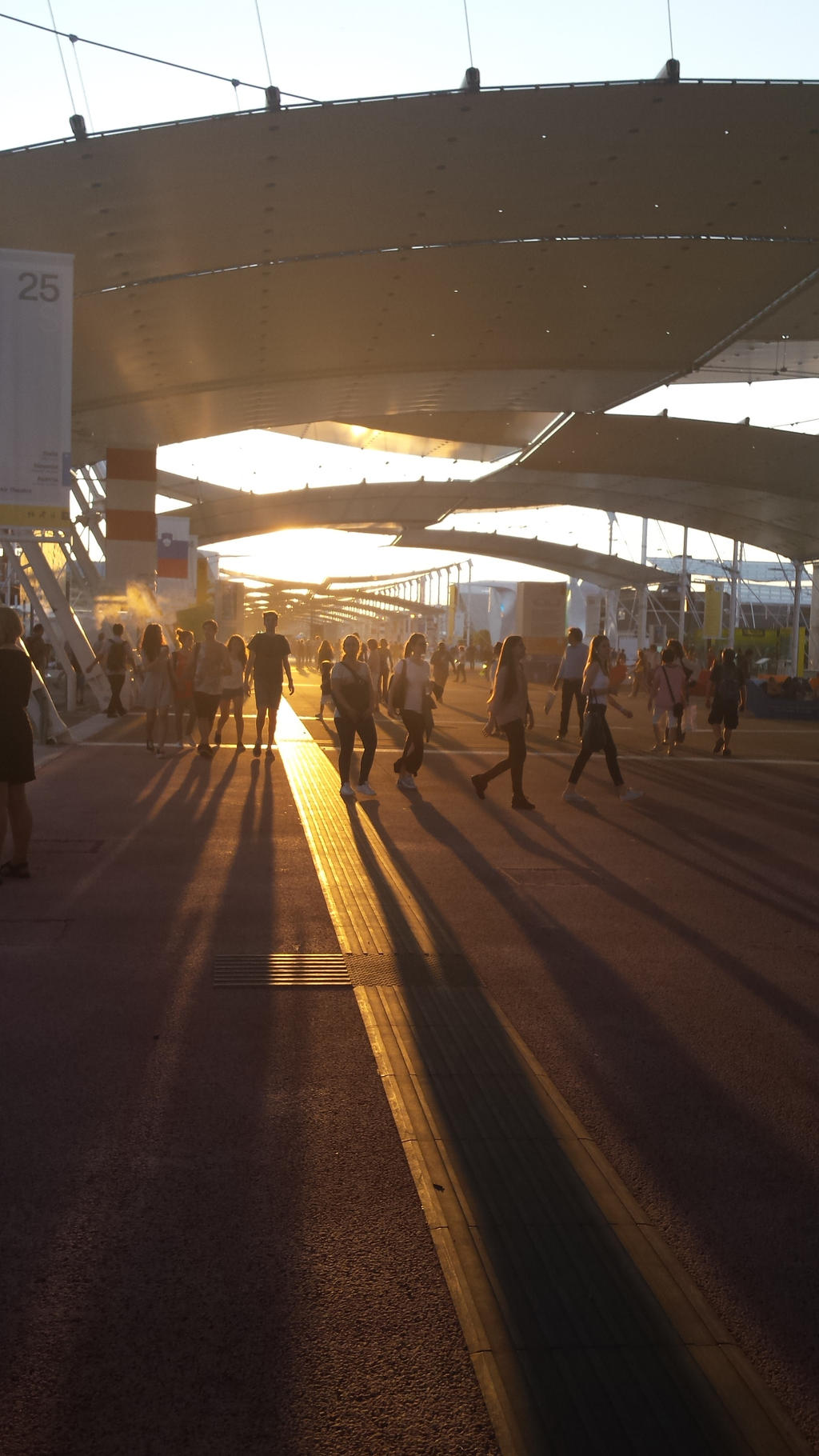 expo sunset by solstiziodinverno