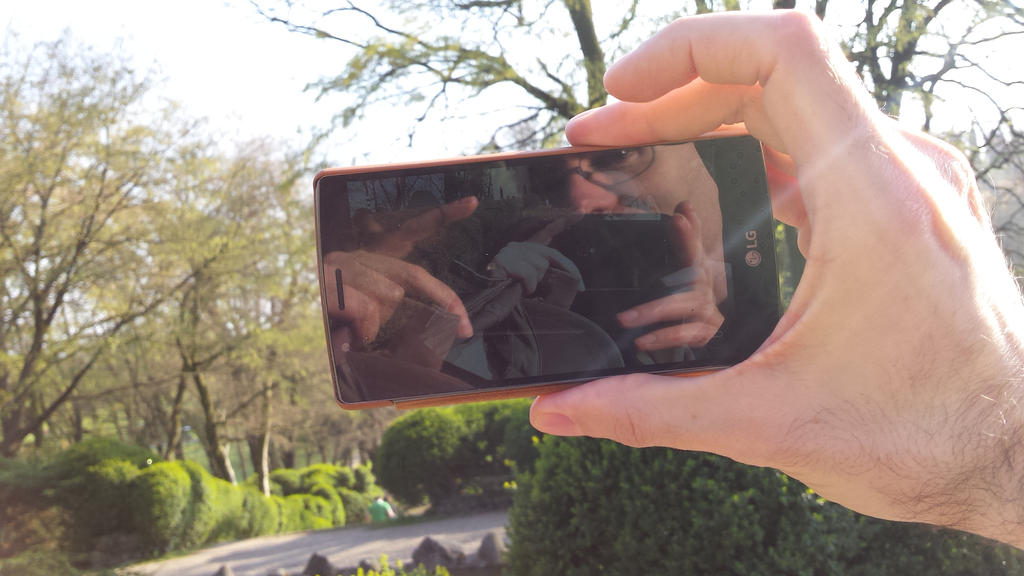 selfie of the selfie of the selfie.... by solstiziodinverno