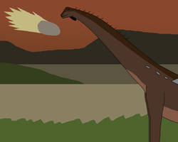 The End of Everything for Sauropods by WildandNatureFan