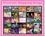 My Favorite Shipping Bingo by WildandNatureFan