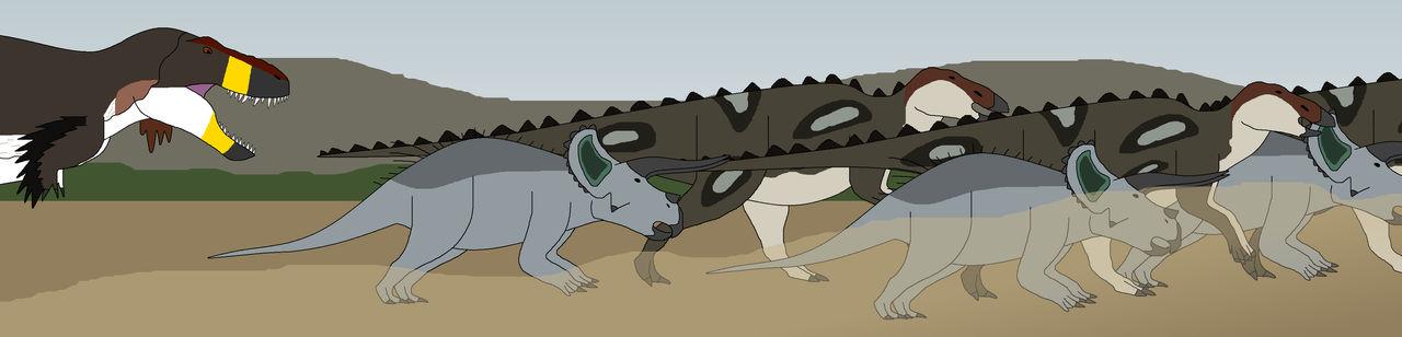 Everybody Run! Rex's Rampaging!