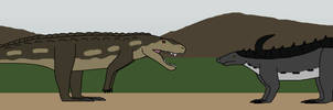 Fight in the Triassic