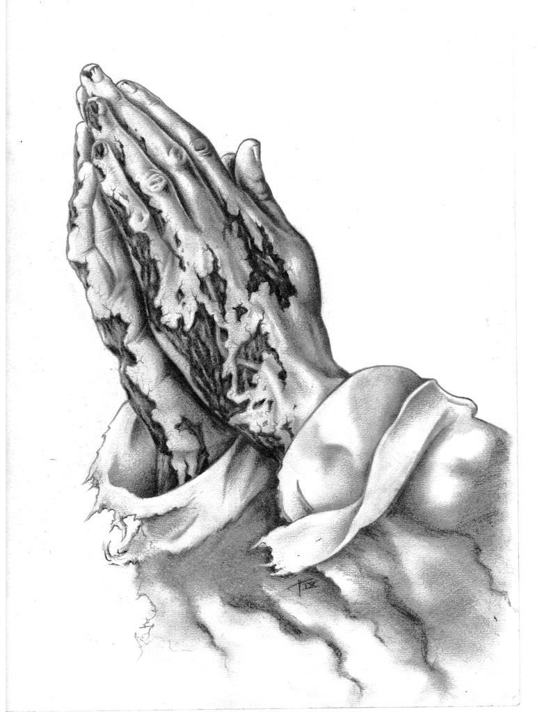 Praying Hands Tattoo Design Picture 2