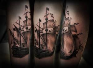Galleon Tattoo part I