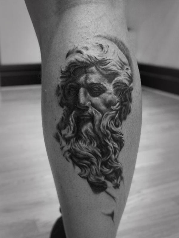 Neptune Tattoo by t-o-n-e