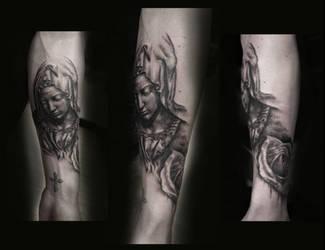La Pieta Tattoo