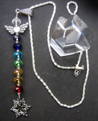 7 Chakra Pendant and 6 Pointed Star