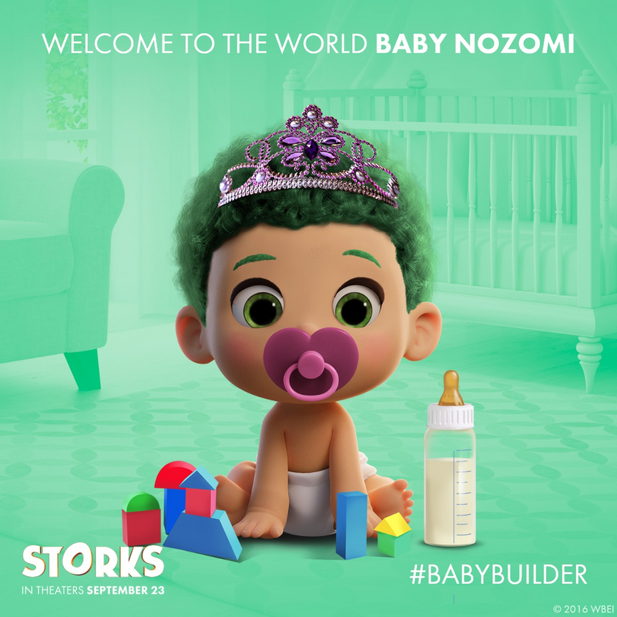 Nozomi on Baby Builder by PrincessNozomi