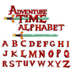 AT font Alphabet