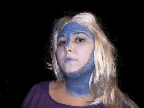 Stage Makeup - Fantasy by RammyRummy