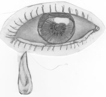 Crying Eye by Boxxxez
