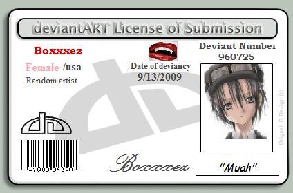 My id by Boxxxez