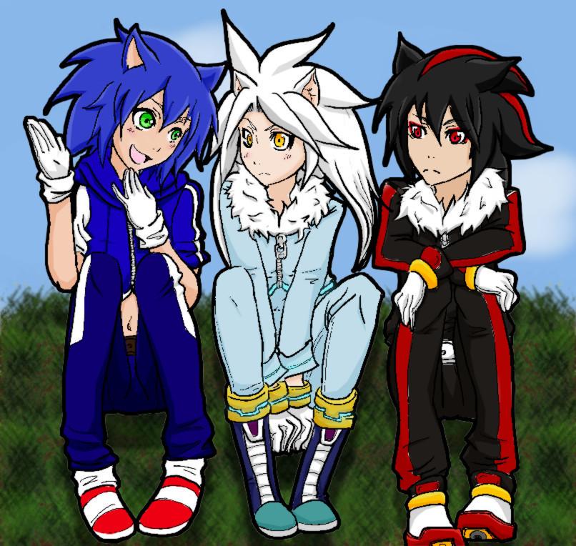 Sonic Silver And Shadow By Raifu2012 On Deviantart