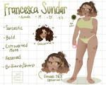 Francesca Ref Sheet 2020