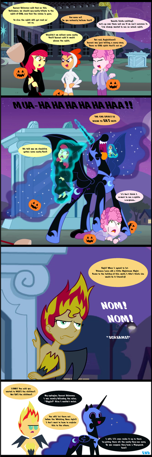 The Nightmare Spirit of CHS by BBBHuey