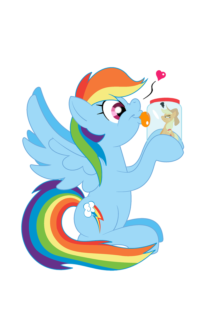Rainbow Loves Her Appletini by BBBHuey