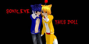 MMD sonic.exe and tails doll