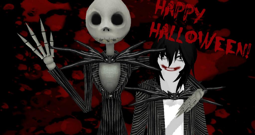 Haapy Halloween! Jack and Jeff Halloween Kings by mokathekiller on ...