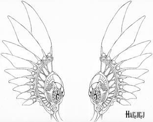Mech Wings by Haruru