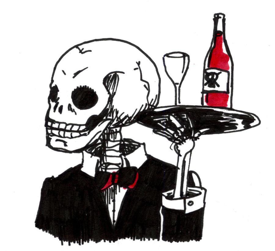 Image result for Skeleton butler