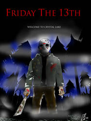 Friday The 13th - manga poster by Seal-of-Metatron