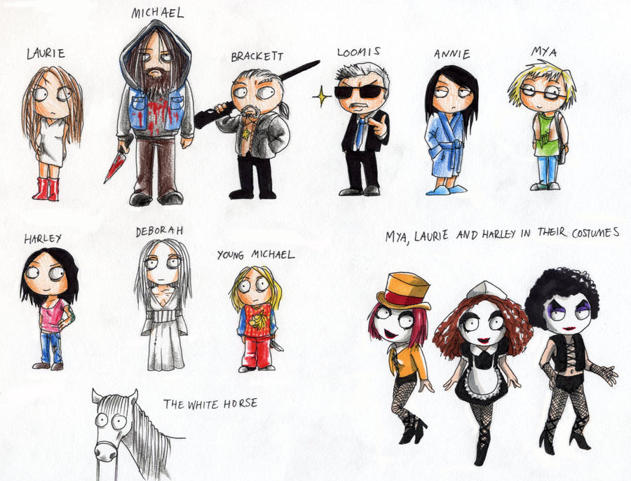 RZ's Halloween 2- Characters by Seal-of-Metatron on DeviantArt