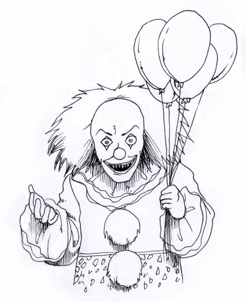 Pennywise the Dancing Clown by SealofMetatron on DeviantArt