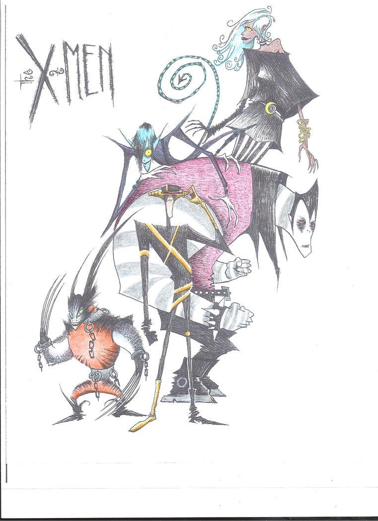 Tim Burton's X-Men by NeonPrime