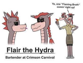 Flairwoman Hydra OC