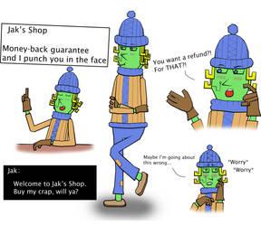 ServerQuest characters - Jak