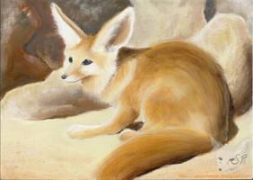 Fennec Fox by SleepyFennec