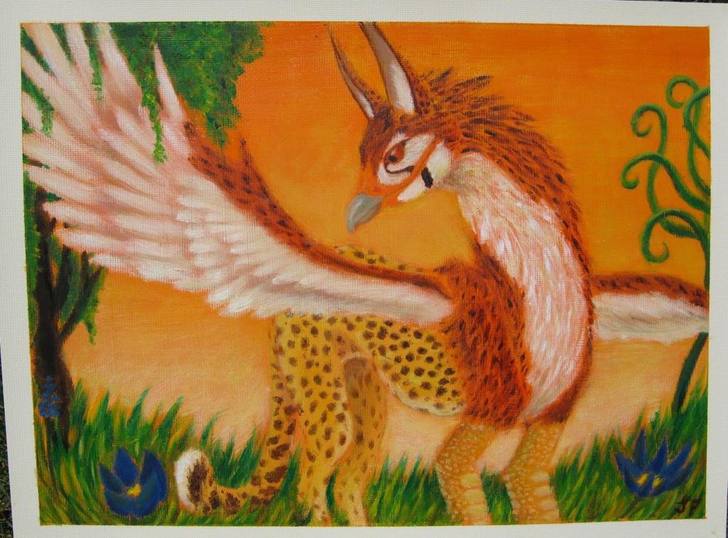 Unfamiliar savannah by SleepyFennec
