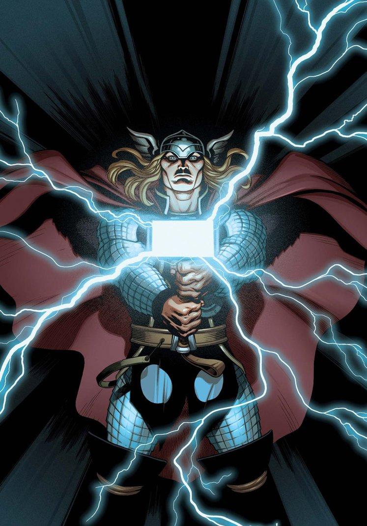 artwork gods lightning marvel - photo #20