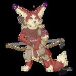 Danji, the small big-game hunter!