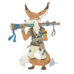 Kurki, the crafty engineer! [ Gift Art ]
