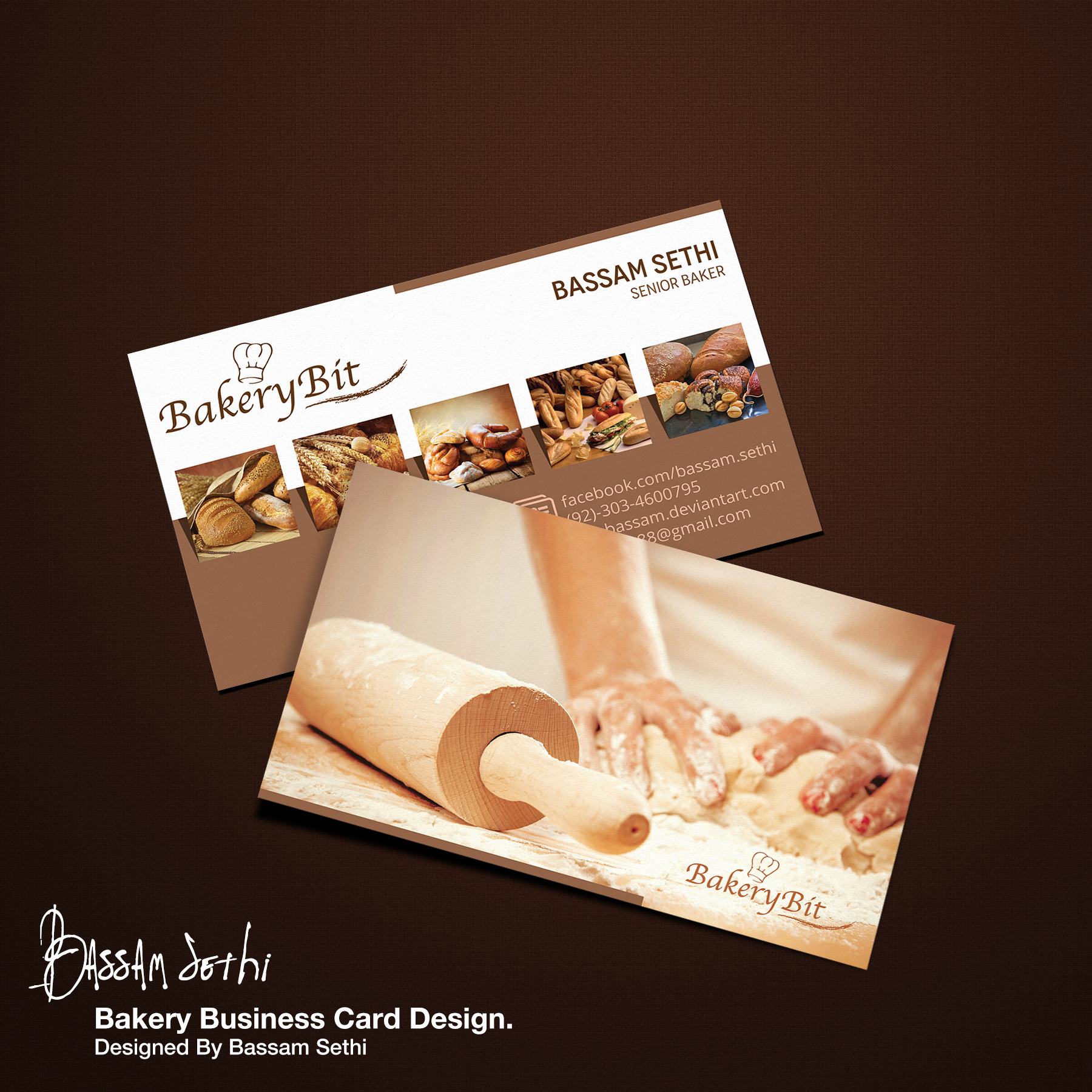 Bakery Business Card Sample By Cap Bassam On Deviantart