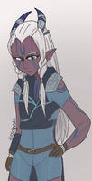 (Requested) Andromeda (( Show The Dragon Prince))