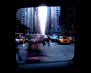 Window taxi or TV screen 2 by blackscreen